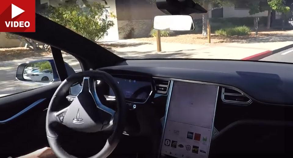 Новый автопилот Tesla способен полностью заменить водителя