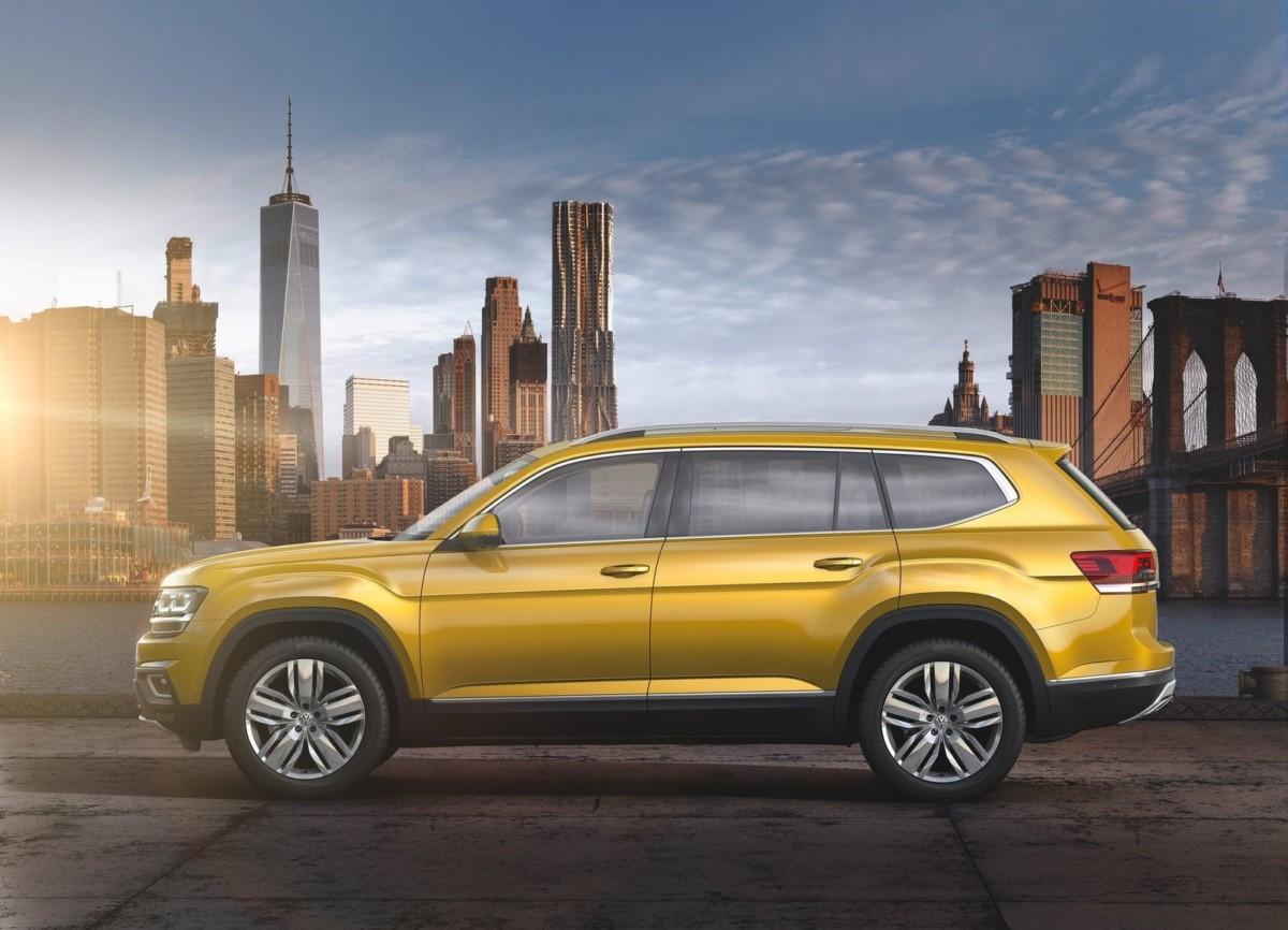 Китайский VW Atlas получил имя Teramont
