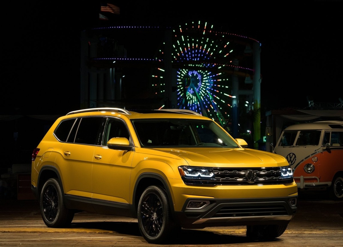 Объявлена цена Volkswagen Atlas 2017 в США
