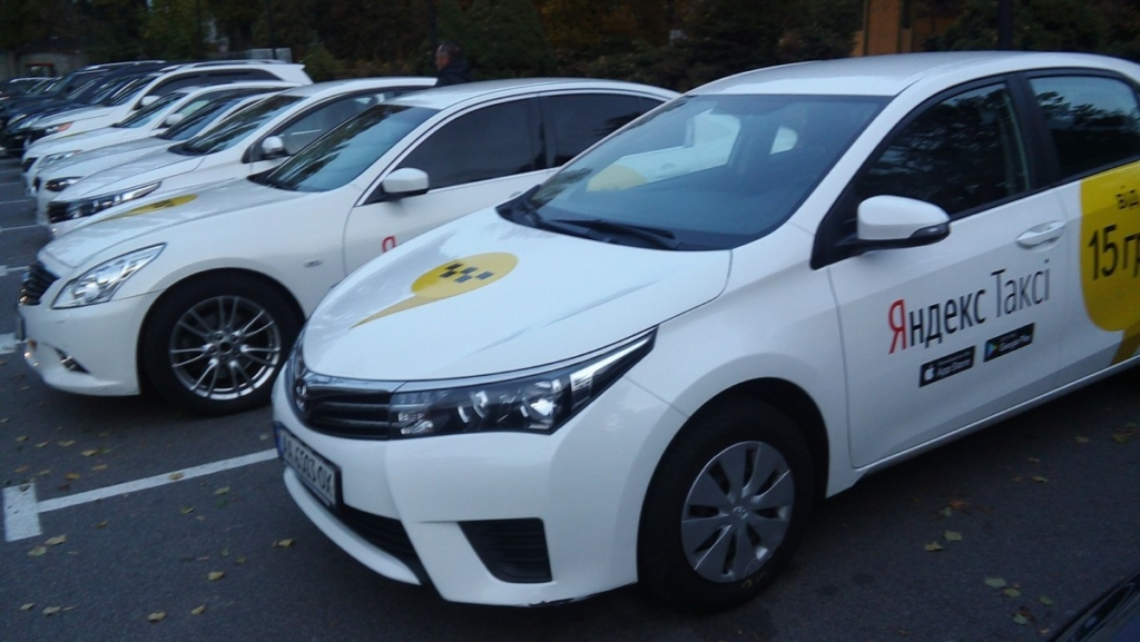 Яндекс запустил сервис такси вКиеве