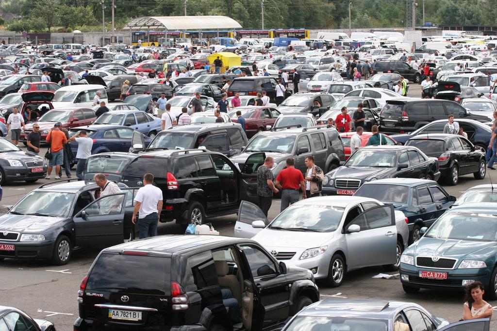 Самые популярные б/у авто в Украине за апрель