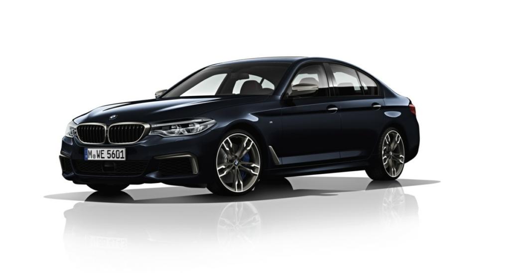 BMW 5 2017 - топ-9 фактов о новой пятерке БМВ
