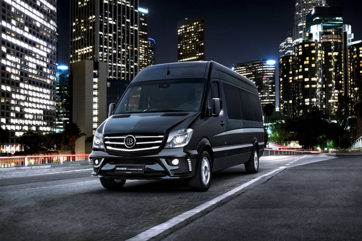 Mercedes Sprinter Conference Lounge от ателье Brabus