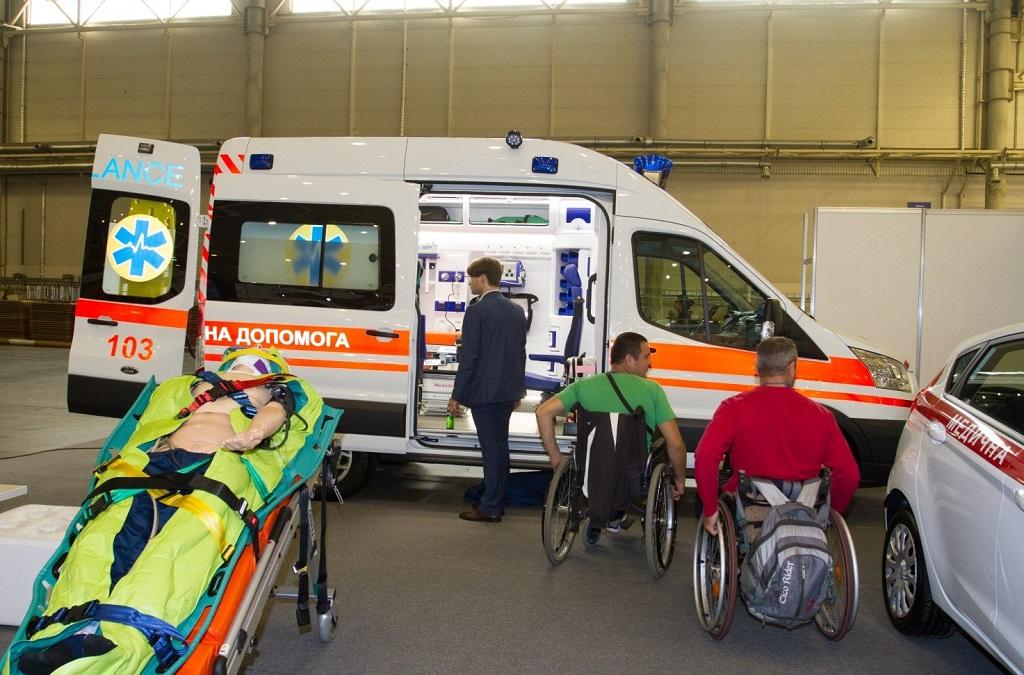 Медичний автомобіль Transit