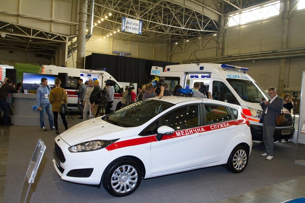 Медичний автомобіль Fiesta