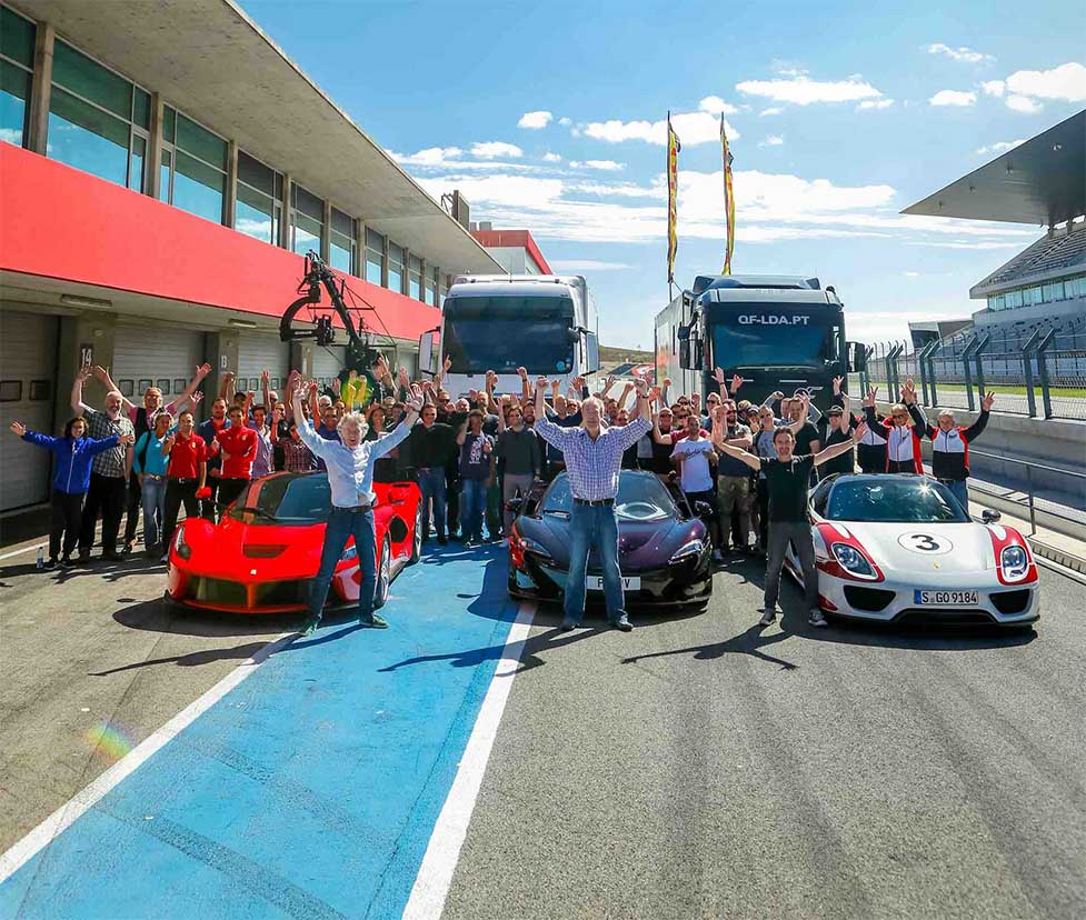 The Grand Tour от бывших ведущих Top Gear