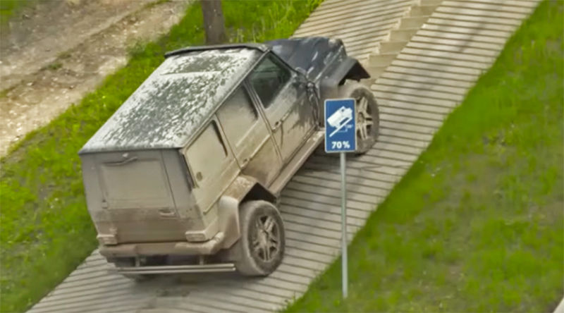 Битва титанов: Mercedes G500 4×4² против внедорожного грузовика Unimog
