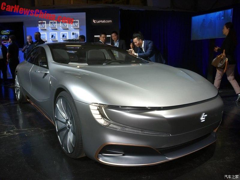LeEco выпустит вСША беспилотный электромобиль