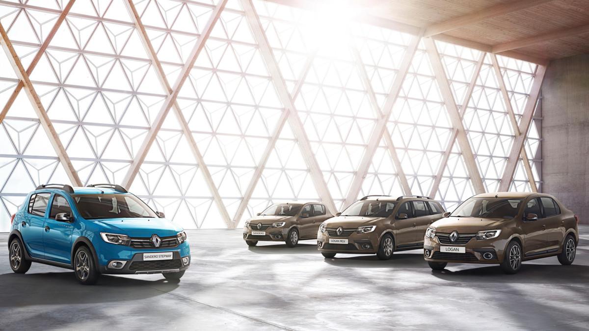 Обновленные Renault Logan и Sandero: первое фото новинок 2016