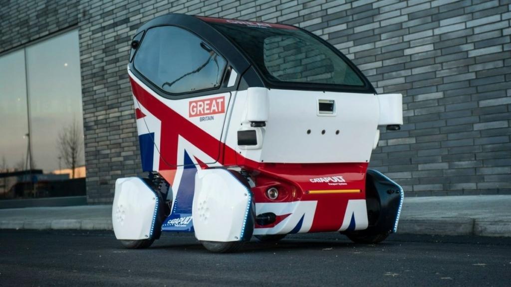 Беспилотные автомобили в Британии разрешили тестировать на пешеходах