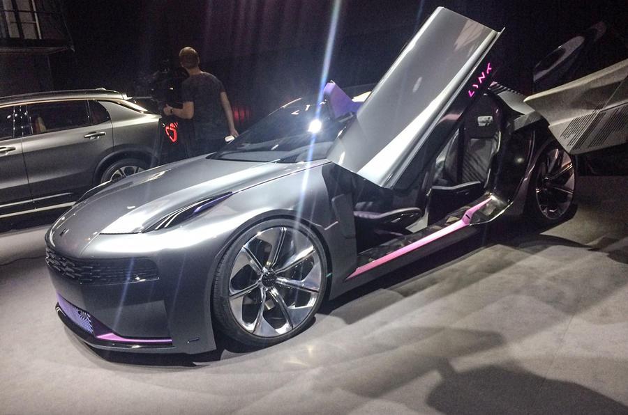 Китайский электромобиль Lynk & Co представлен в Берлине