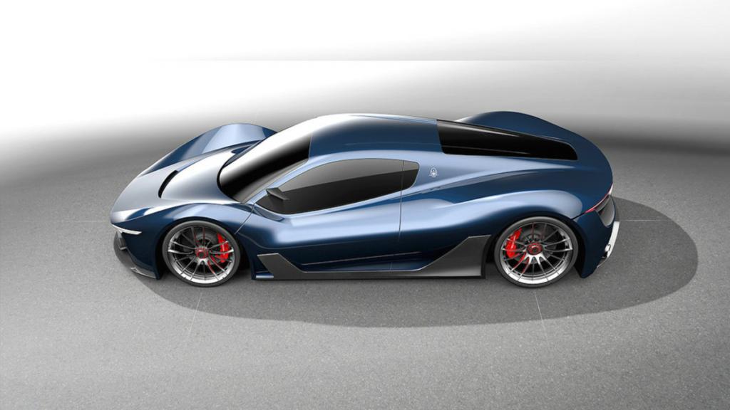 Каким будет новый гиперкар Maserati