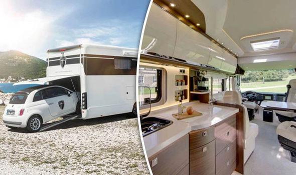 Morelo Empire Liner – роскошный дом на колесах с гаражом