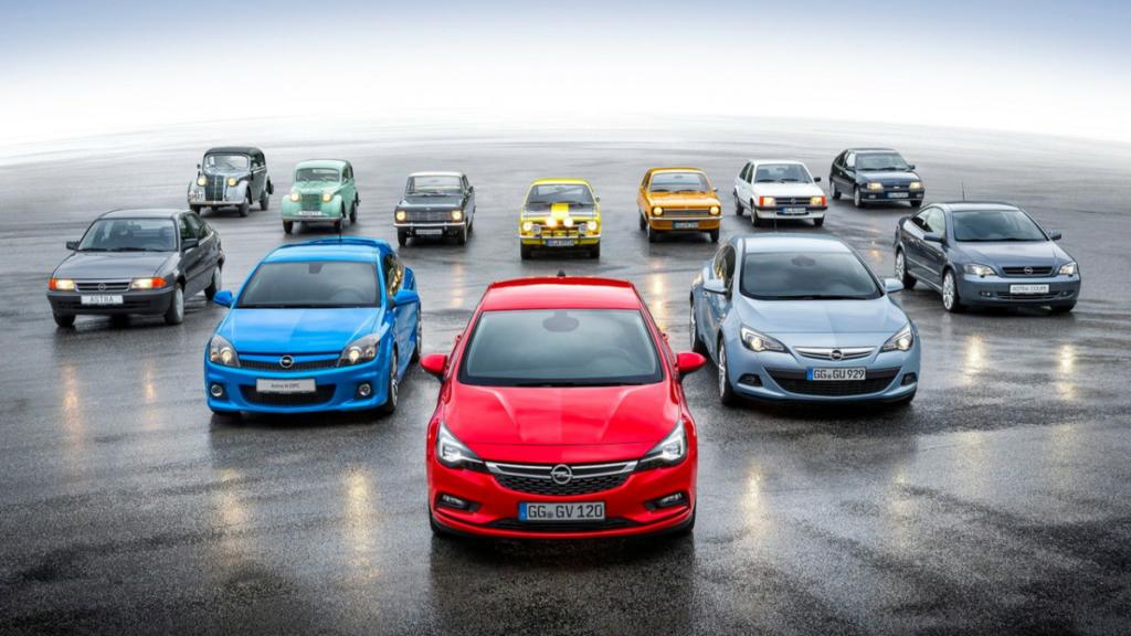 Opel Kadett празднует 80-летие