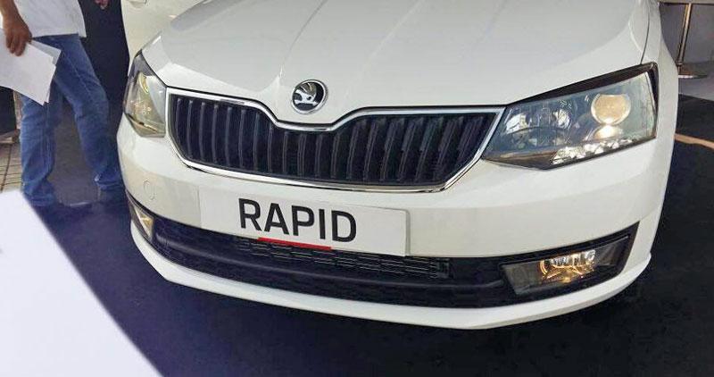 Новый Рапид - первые фото Skoda Rapid 2017