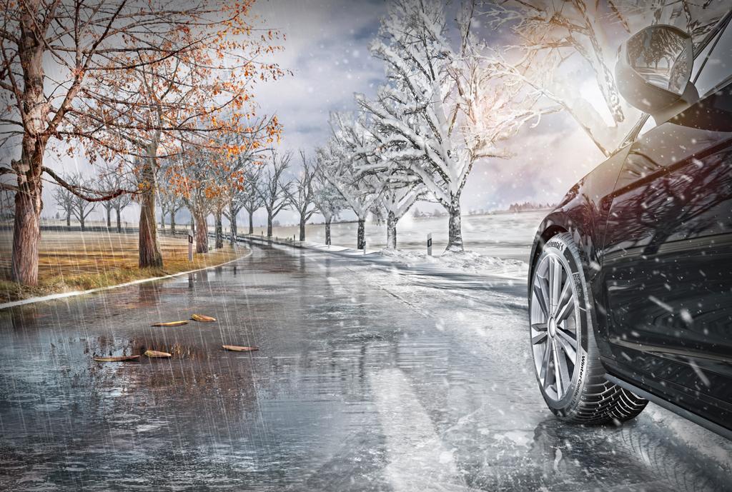 смена летних шин на зимние