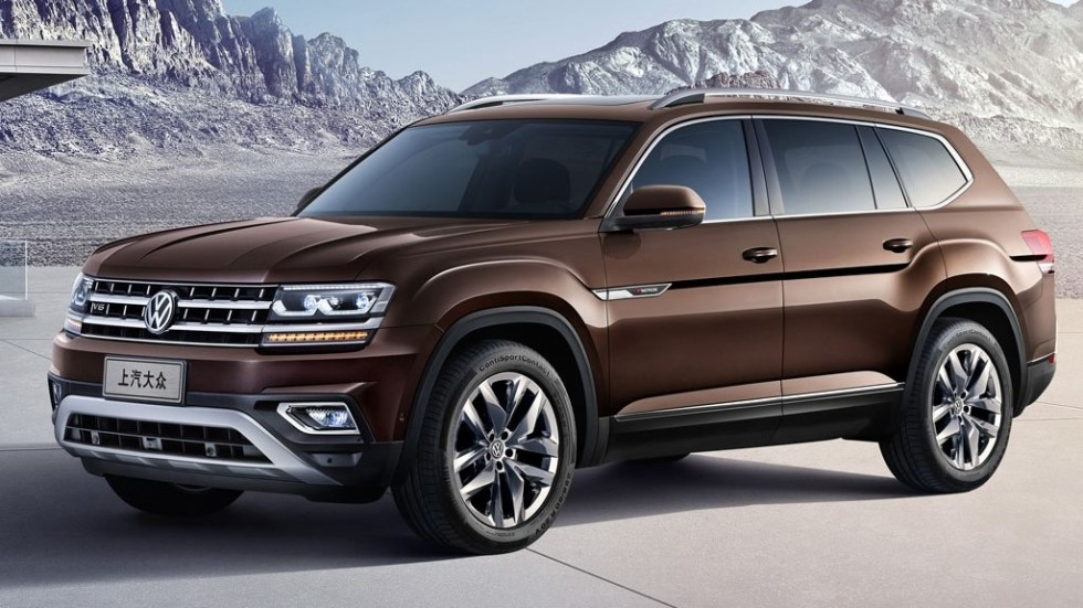 VW продемонстрировал новый семиместный кроссовер