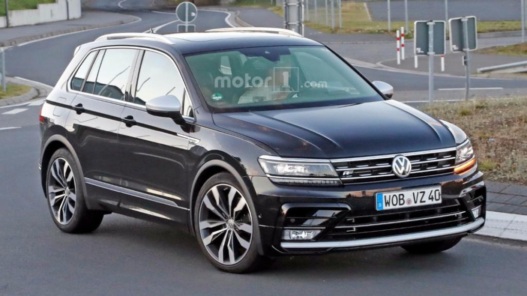 Volkswagen Tiguan R. Каким будет заряженный кроссовер Фольксваген