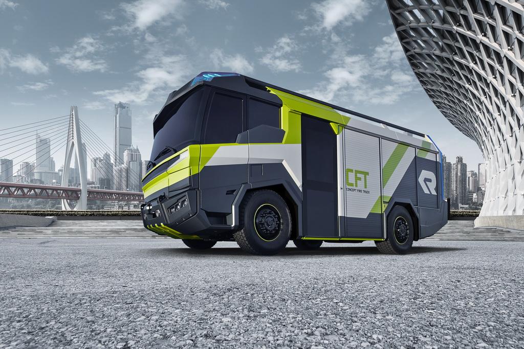 Rosenbaurer показал пожарный автомобиль будущего - Concept Fire Truck