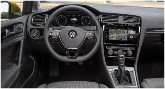 Volkswagen Golf 2017 – первые фото обновленного Гольф