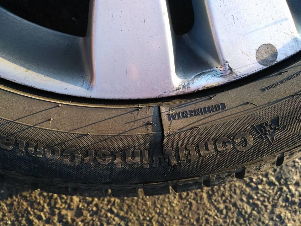 Рекордный автопробег – минус колесо и привет Укравтодору
