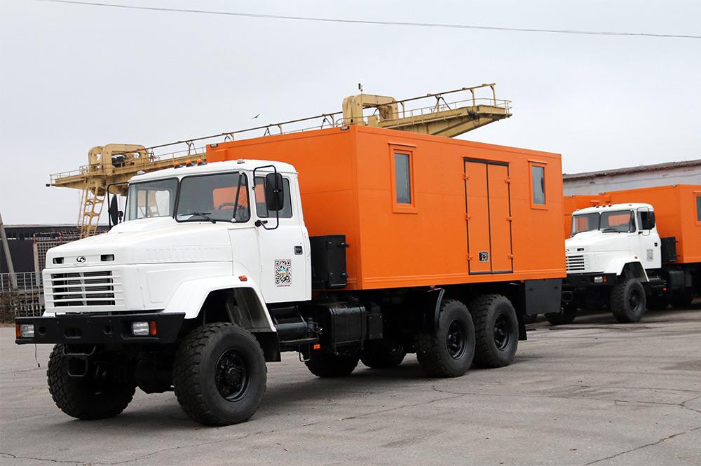 Автомобили-мастерские на шасси КрАЗ-63221