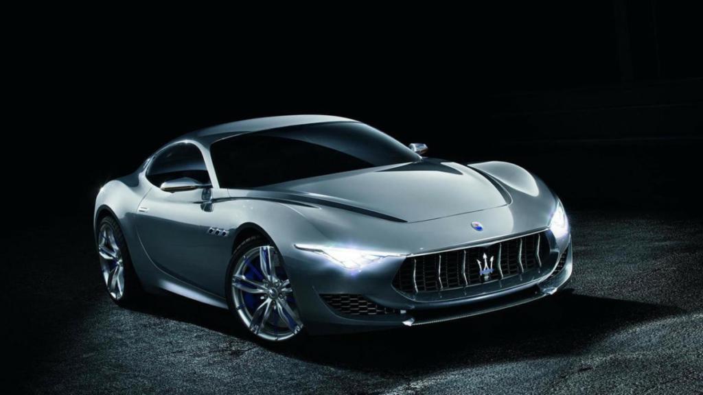 Фантастическое купе Maserati Alfieri станет серийным