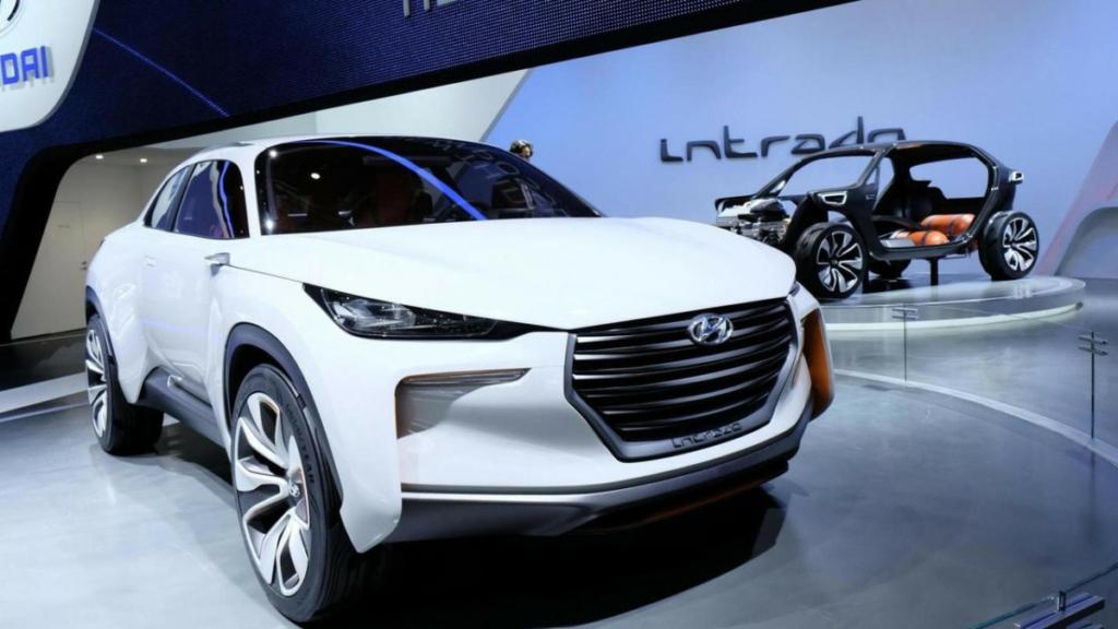 Электрический кроссовер Hyundai появится в 2018 году