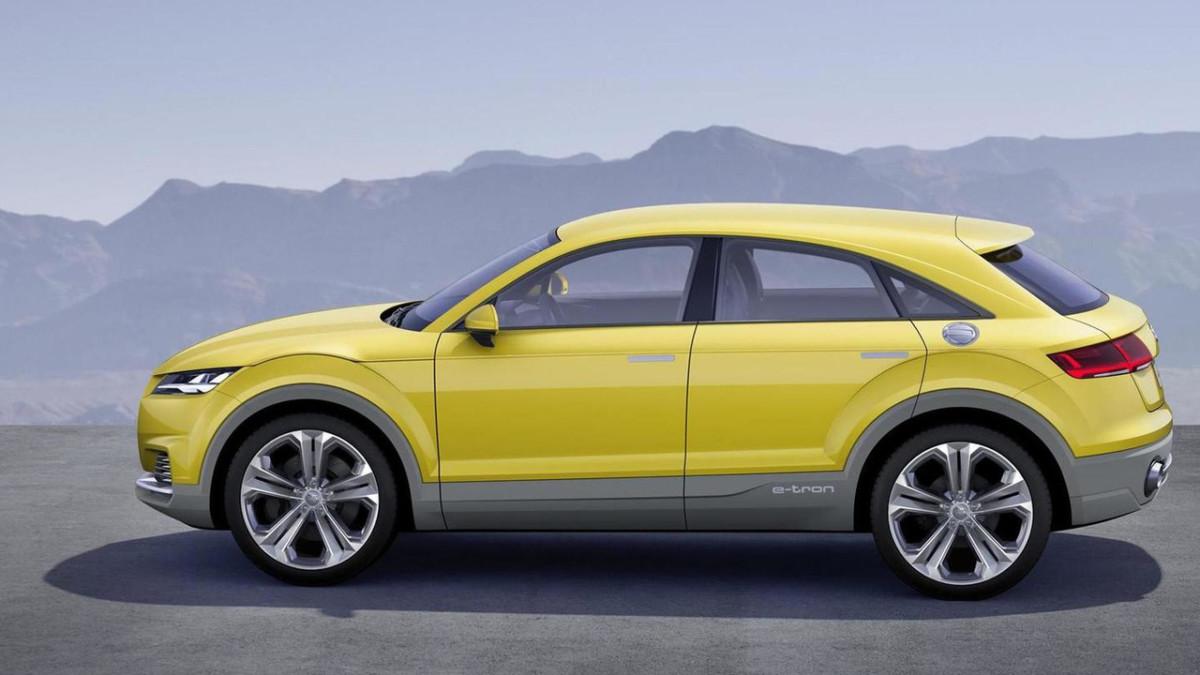 Audi Q4 2019. Каким будет первый купе-кроссовер Ауди