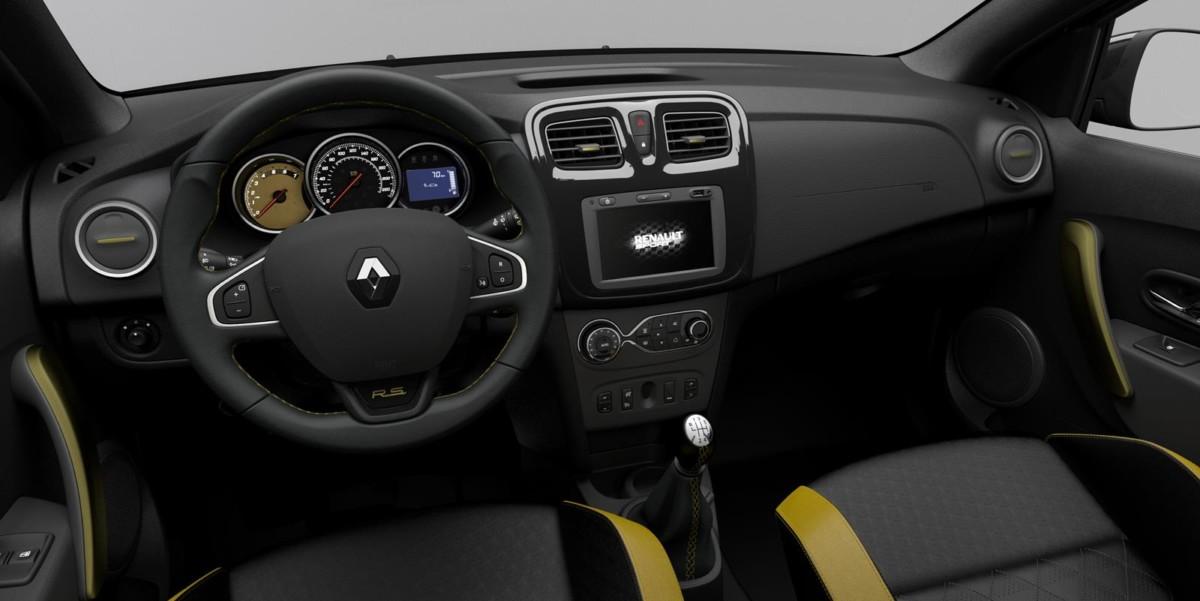 Renault Sandero RS Grand Prix интерьер