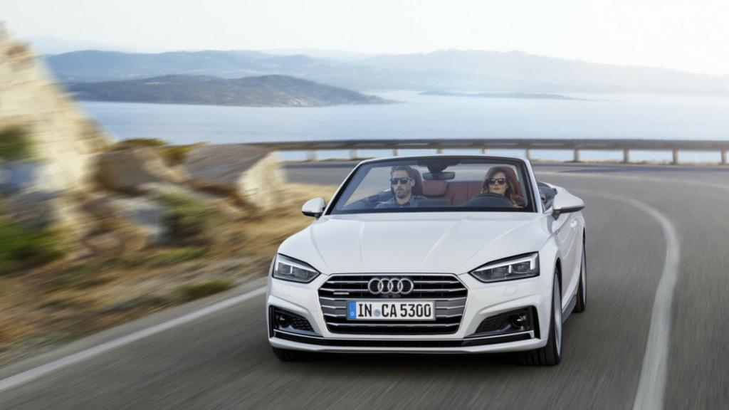 Audi A5 Cabriolet 2017 – первые фото и данные кабриолета Ауди