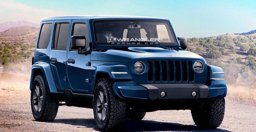 Новый Jeep Wrangler: размещены данные опрезентации иначале продаж