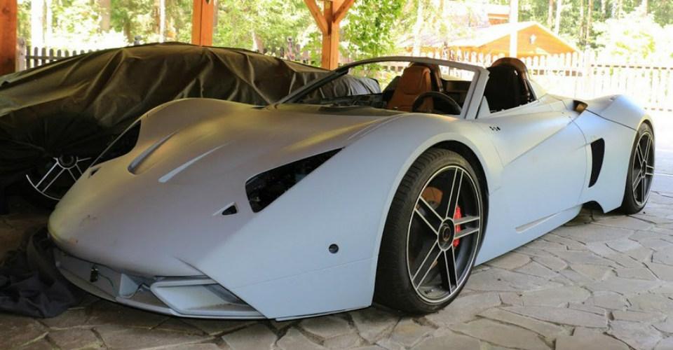 Уникальные спорткары Marussia выставили на продажу