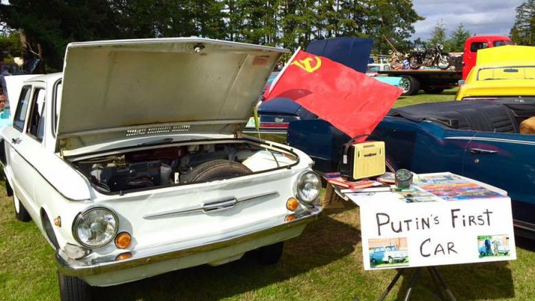 первый автомобиль Путина Запорожец