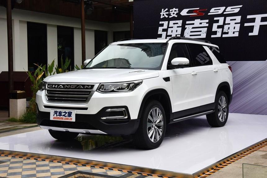 Китайский внедорожник Changan CS95 составит конкуренцию Toyota Highlander
