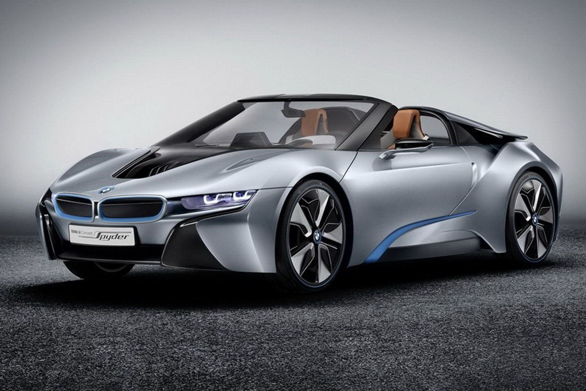 Примерно таким будет BMW i8 Spyder