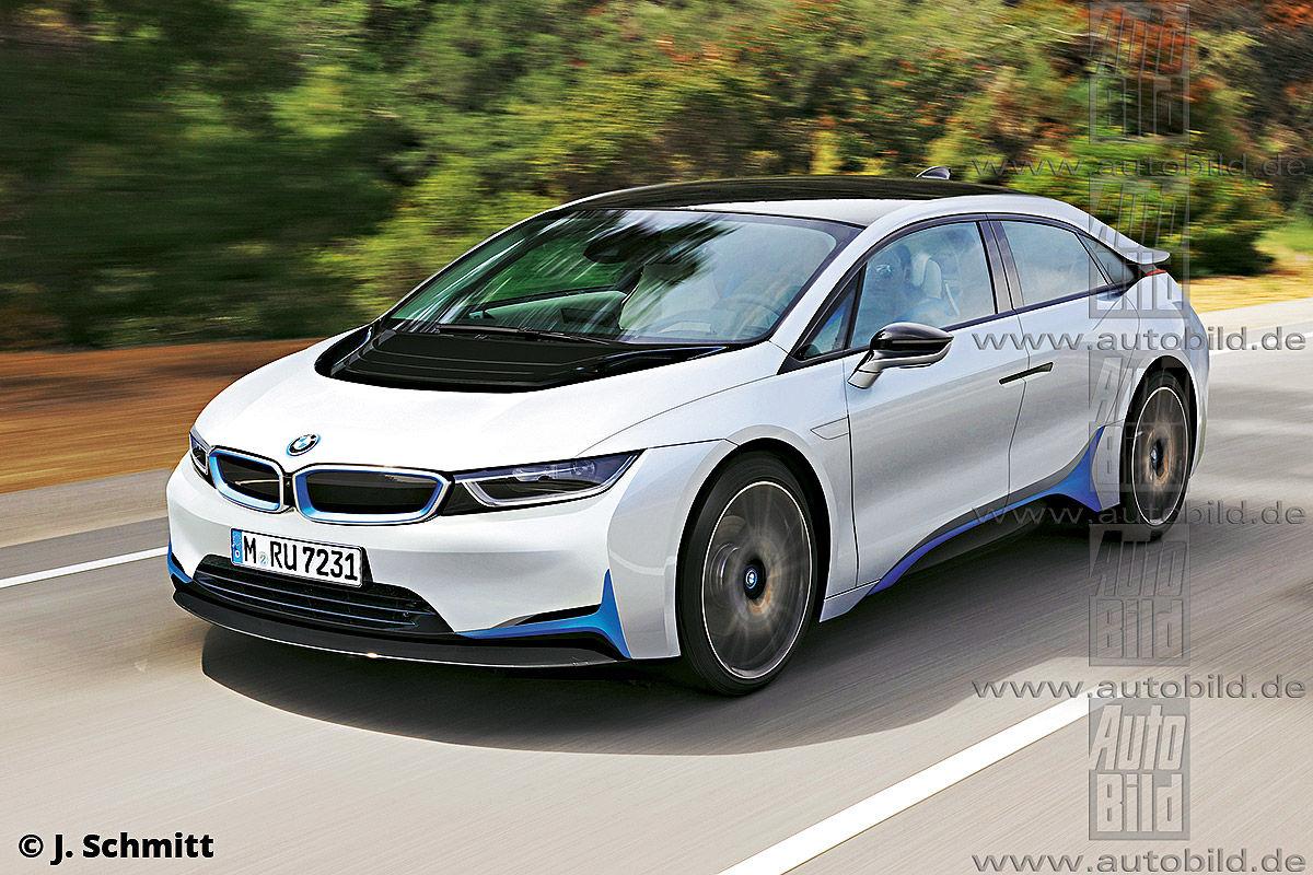Возможный внешний вид будущего BMW i