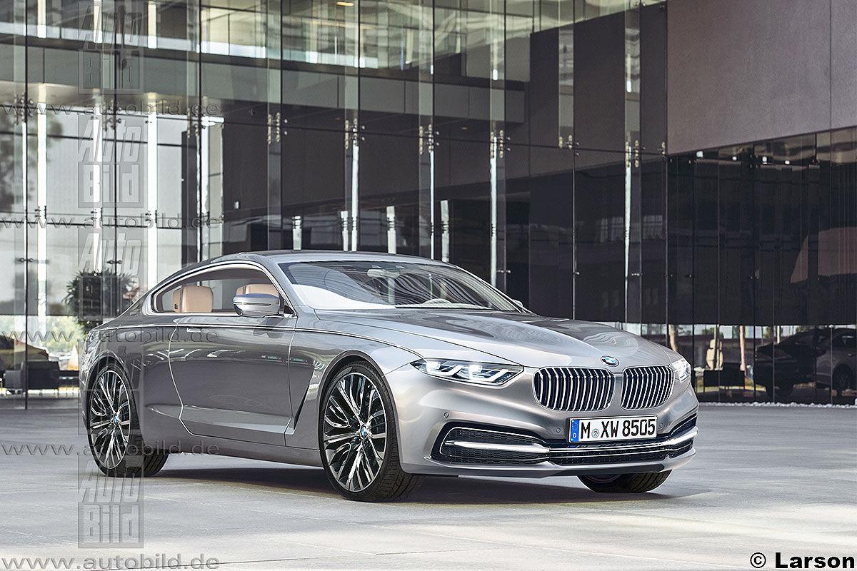 Экстерьер BMW 8 Series. Один из возможных вариантов