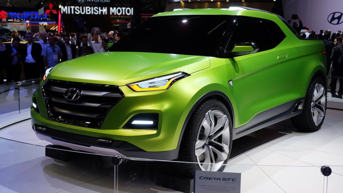 Hyundai Creta – теперь и пикап для активного отдыха