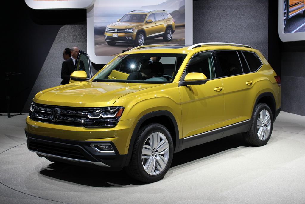 Большой кроссовер Volkswagen Atlas представили в США