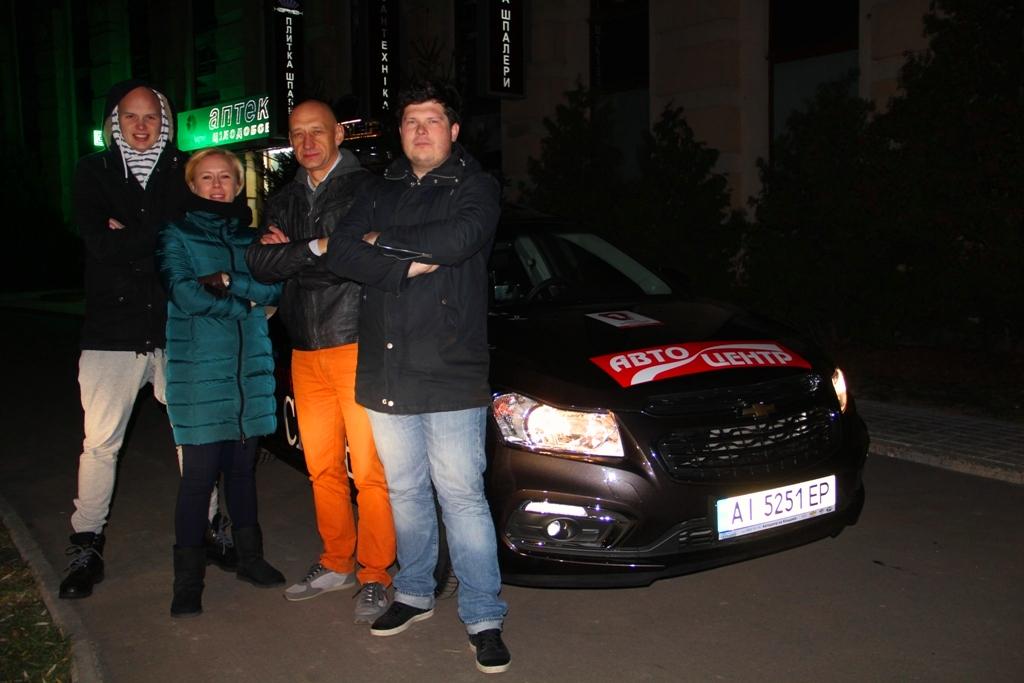 Рекорд Украины 10 000 км за 7 дней на Шевроле Круз