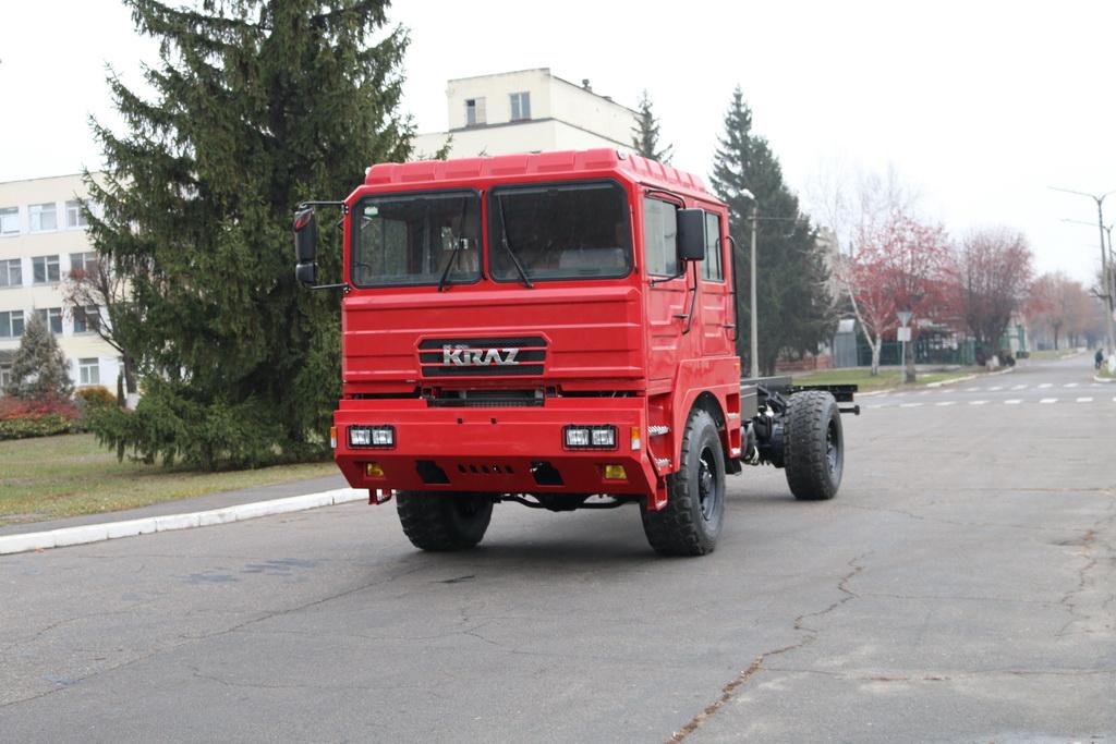 Шасси КрАЗ-5401НЕ (4х4)