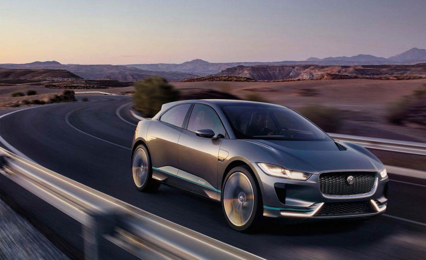 Серийный электрокроссовер Jaguar I-Pace представят осенью