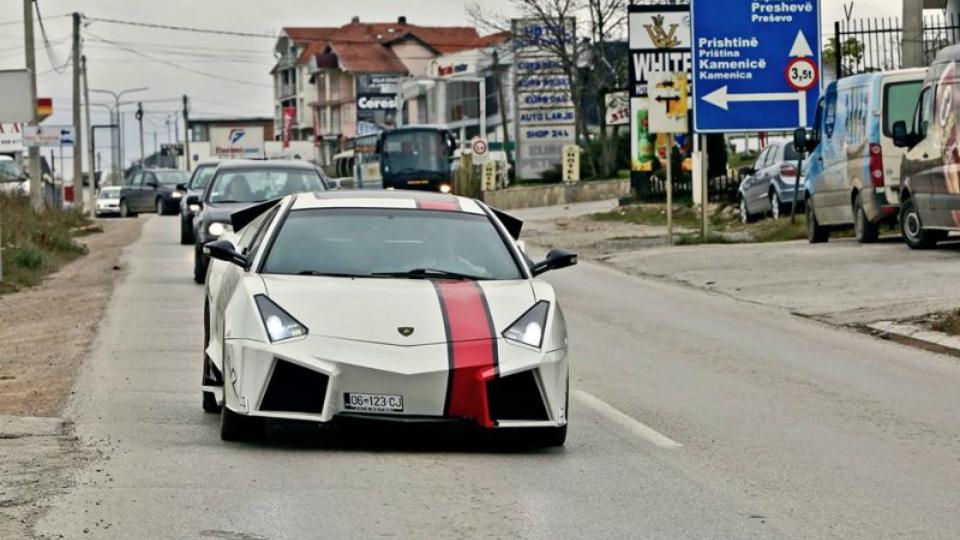 Lamborghini своими руками – албанский пример суперкара для бедных