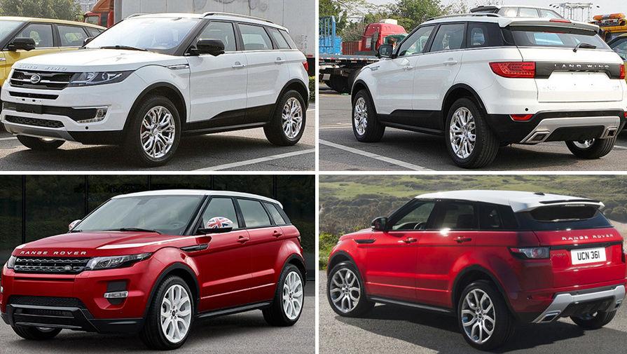 Китайский клон Range Rover сделают менее похожим на оригинал
