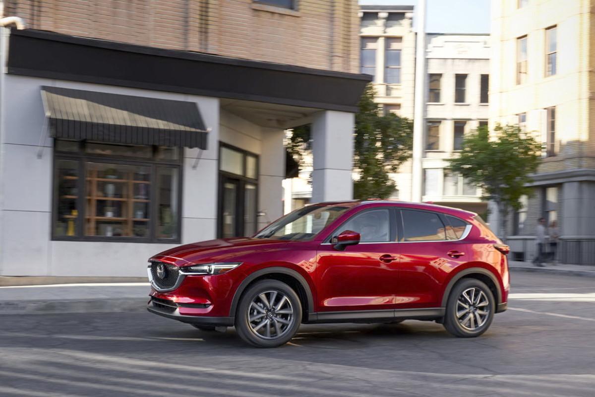 Семиместный кроссовер Mazda CX-5 бросит вызов Skoda Kodiaq