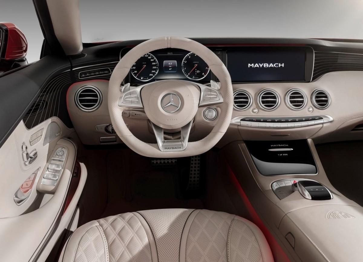 Роскошный кабриолет Mercedes-Maybach S650 представлен в Лос-Анджелесе