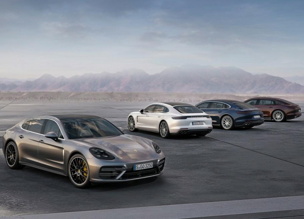 Porsche Panamera 2017 получил удлиненную версию