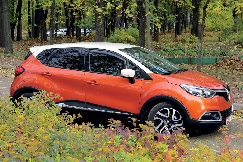 народный тест-драйв Renault Captur