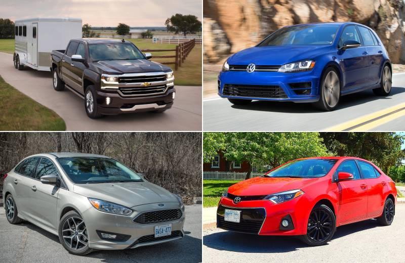 Самые популярные автомобили в мире